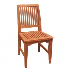 C-53935 Outdoor Side Chair | Oil Dipped