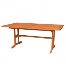 [72 Inch] Outdoor Dining Trestle Table