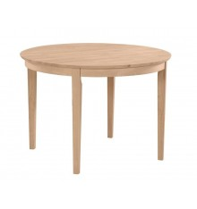 [42 Inch] Contemporary Solid Dining Table