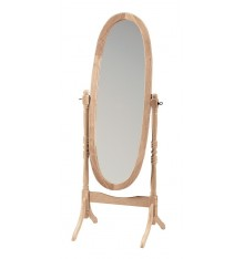 DISCONTINUED 46709 Oval Cheval Mirror