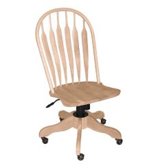 Deluxe Steambent Windsor Desk Chairs