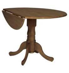 [42 Inch] Round Dropleaf Dining Tables