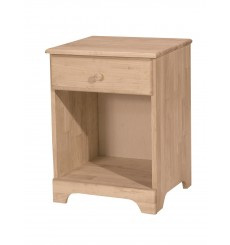 [19 Inch] Jamestown 1 Drawer Nightstand