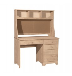 [45 Inch] Jamestown Hutch with Corkboard