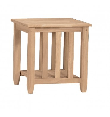 [21 Inch] Mission End Table
