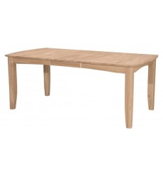 [78 Inch] Bow End Butterfly Dining Table
