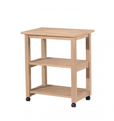 [26 Inch] Kitchen Microwave Carts