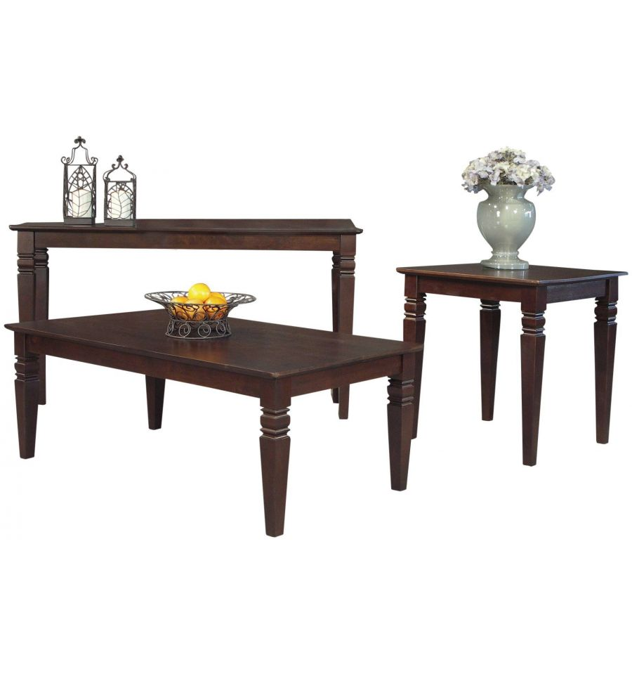 36 Inch Java Square Coffee Tables