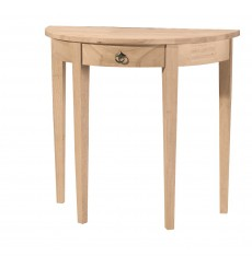 [32 Inch] Crescent Entry Table