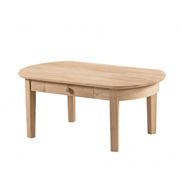 [42 Inch] Phillips Oval Coffee Table