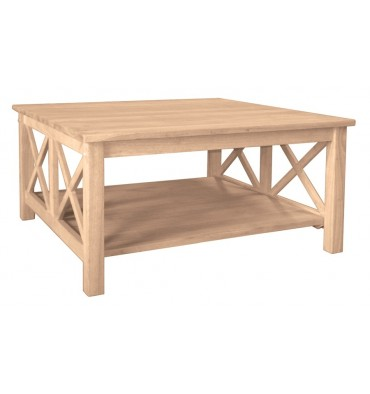 [36 Inch] Hampton Square Coffee Table