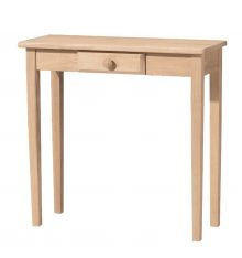 [30 Inch] Shaker Entry Table with Drawer