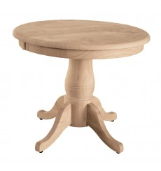 """[22 Inch] Table Top shown with 18P Turned Pedestal 18""""H"""