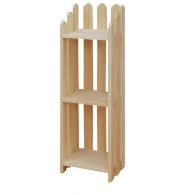 "[13 Inch] Picket Bookshelves 39""H"
