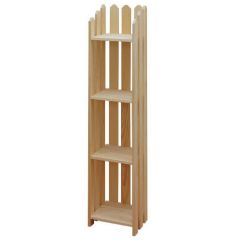 "[13 Inch] Picket Bookshelves 56""H"