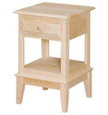 [17 Inch] Shaker End Table