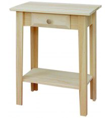 [22 Inch] White Horse Entry Table