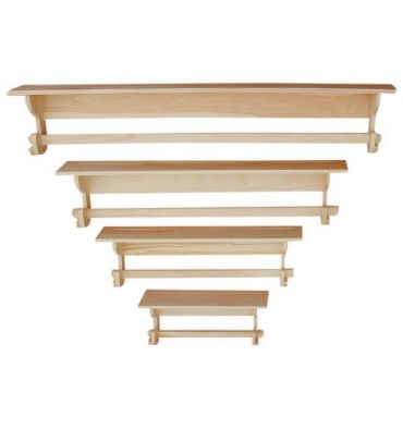 [24-60 Inch] Hanging Quilt Wall Shelves