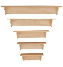 [24-60 Inch] Wall Shelves | Plain