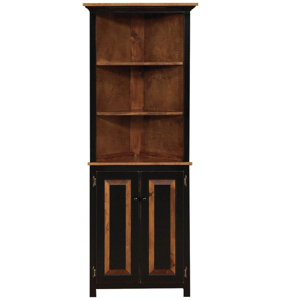 cabinets hutch alldressedup idea intended cabinet info for corner dining unfinished room