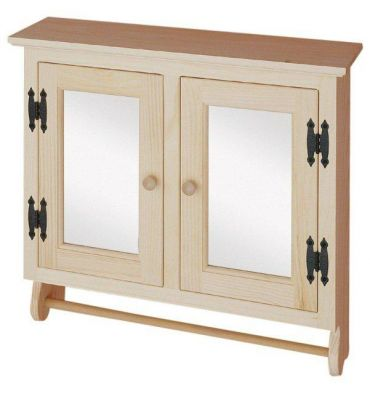 [26 Inch] Wall Cabinet - Mirror