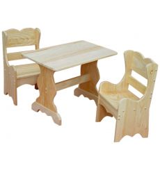 [28 Inch] Table and Chair Set