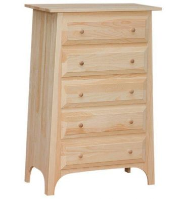 [30 Inch] Slant 5 Drawer Chest