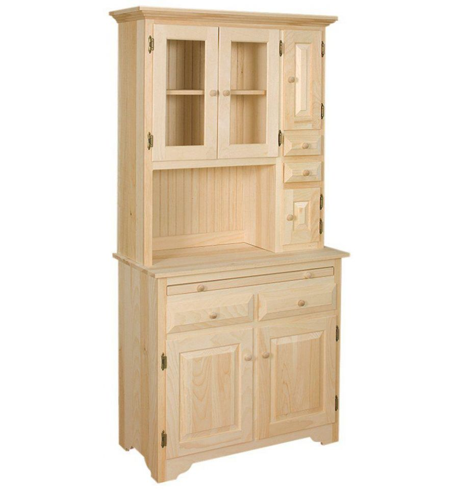 Hoosier Kitchen Cabinet 36 Inch Hoosier Cabinet Burrs Unfinished Furniture Bryan Tx