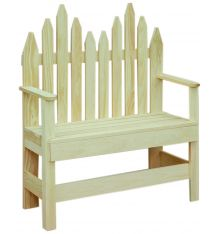 [37 Inch] Picket Bench