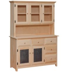 [49 Inch] Dutch Country Hutch - Tin
