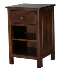 [19 Inch] Alder Heritage 1 Drawer Nightstand