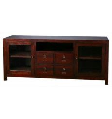 [65 Inch] Allwood TV Media Center