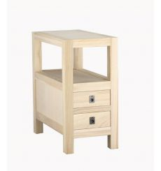 12 Inch Allwood Chairside Table